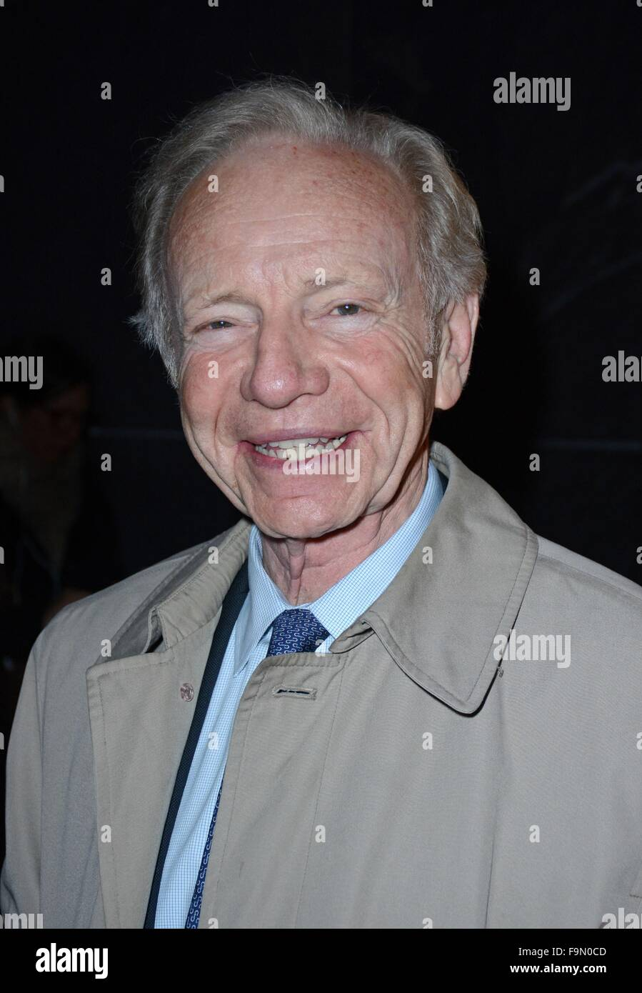 Senator Joe Lieberman seen at AMC Lincoln Square out and about for Celebrity Candids - WED, , New York, NY December - Stock Image
