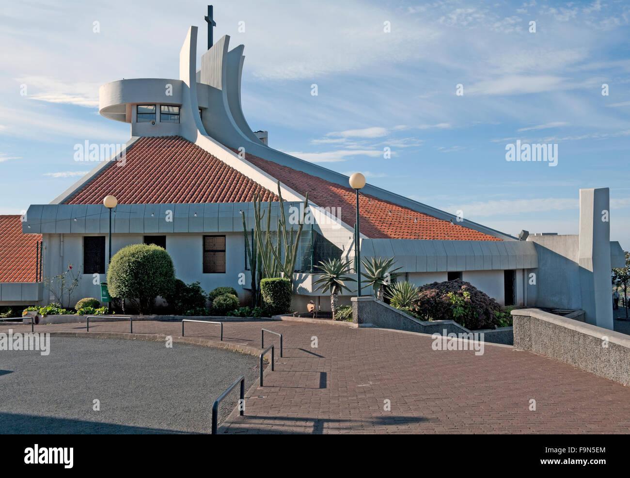 Camacha, Igreja Paroquial Da Camacha Church, Madeira, Portugal, - Stock Image