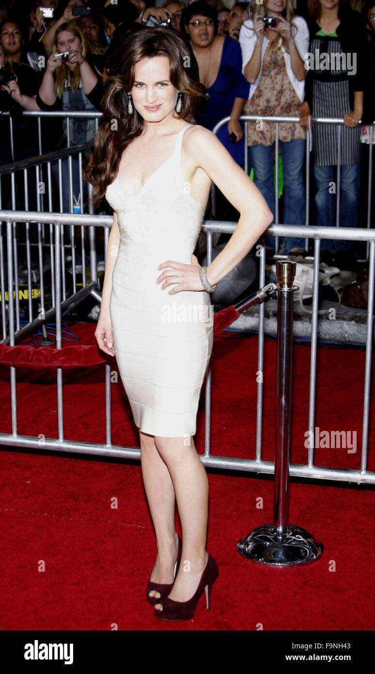 WESTWOOD, CALIFORNIA - Monday November 16, 2009. Elizabeth Reaser at the Los Angeles premiere of 'The Twilight - Stock Image