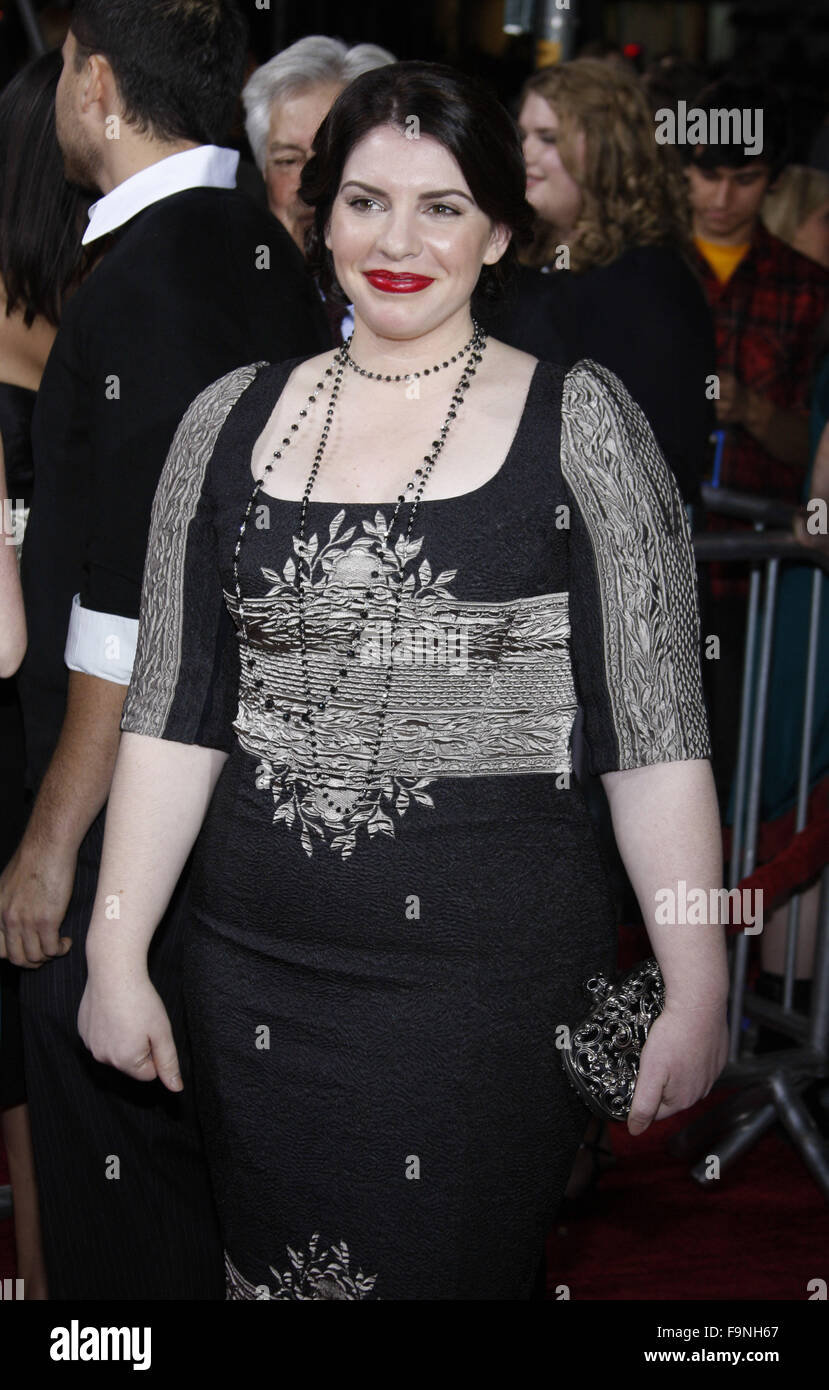 WESTWOOD, CALIFORNIA - Monday November 16, 2009. Stephenie Meyer at the Los Angeles premiere of 'The Twilight - Stock Image