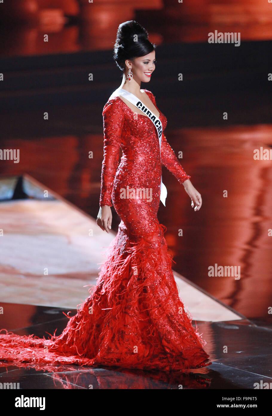 Las Vegas, Nevada, USA  16th Dec, 2015  Miss Curacao Kanisha Sluis