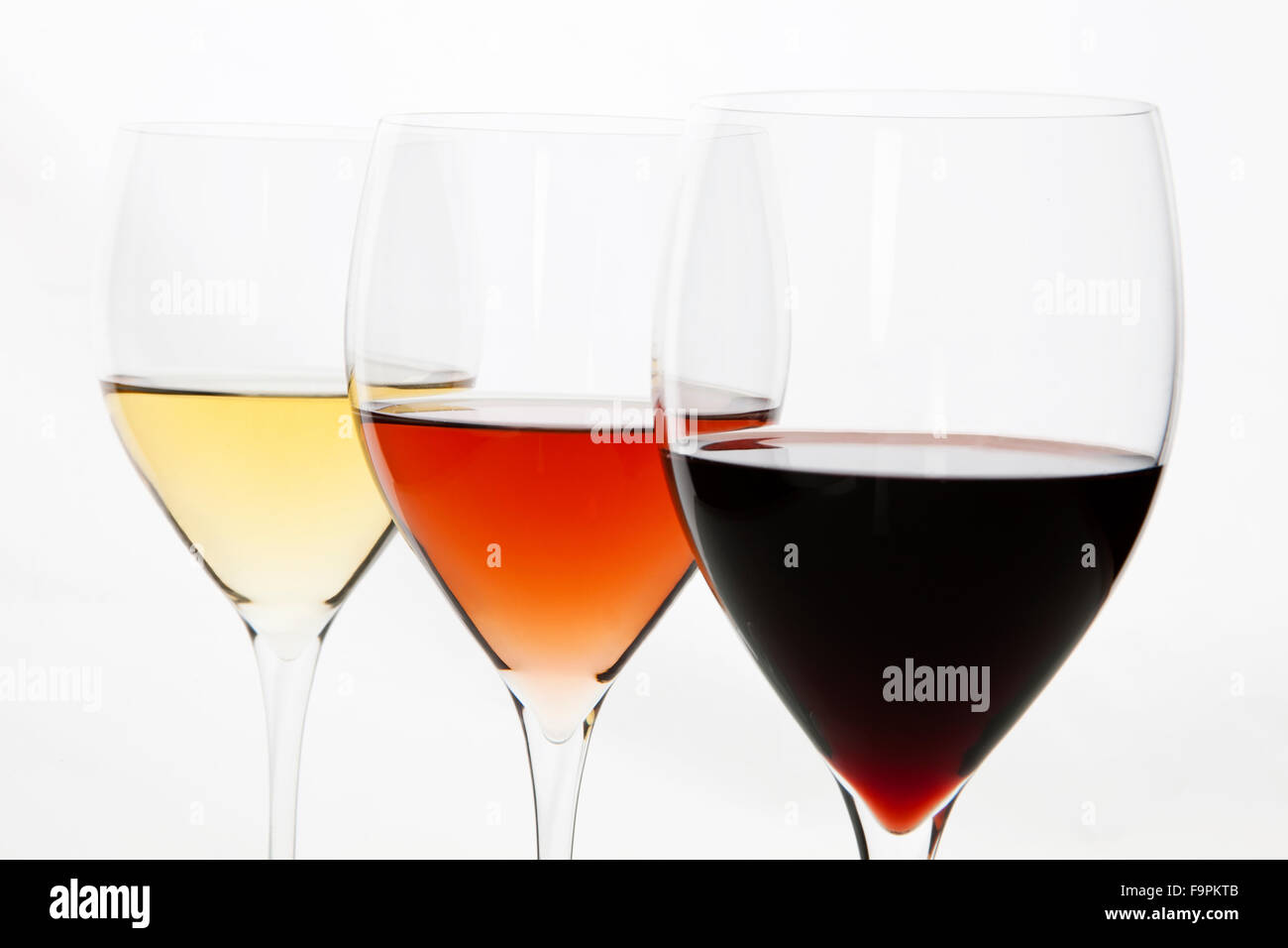 Three Colors Of Wine Red Rose And White Stock Photo 92082267 Alamy