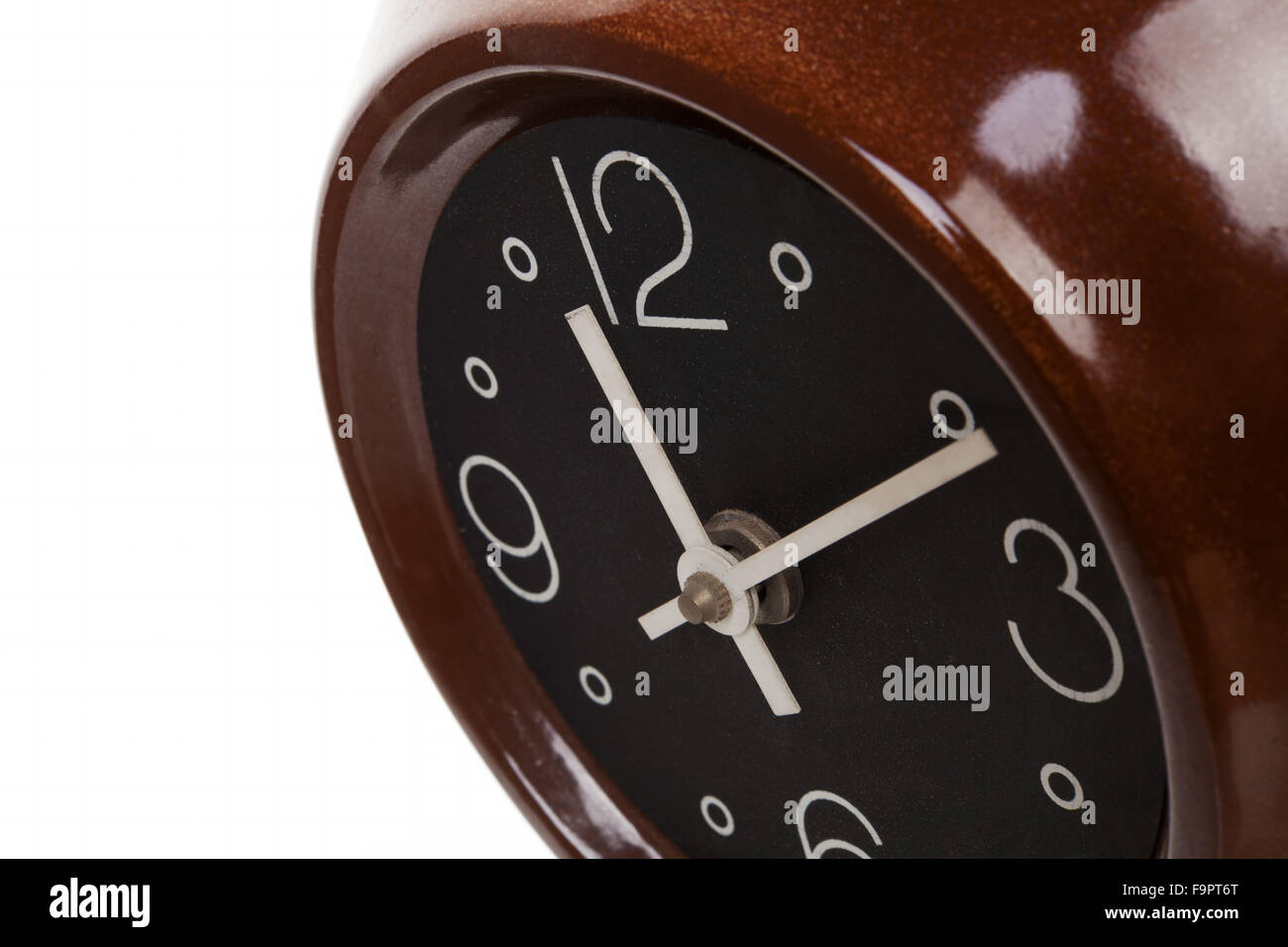 Retro clock from the sixties. - Stock Image