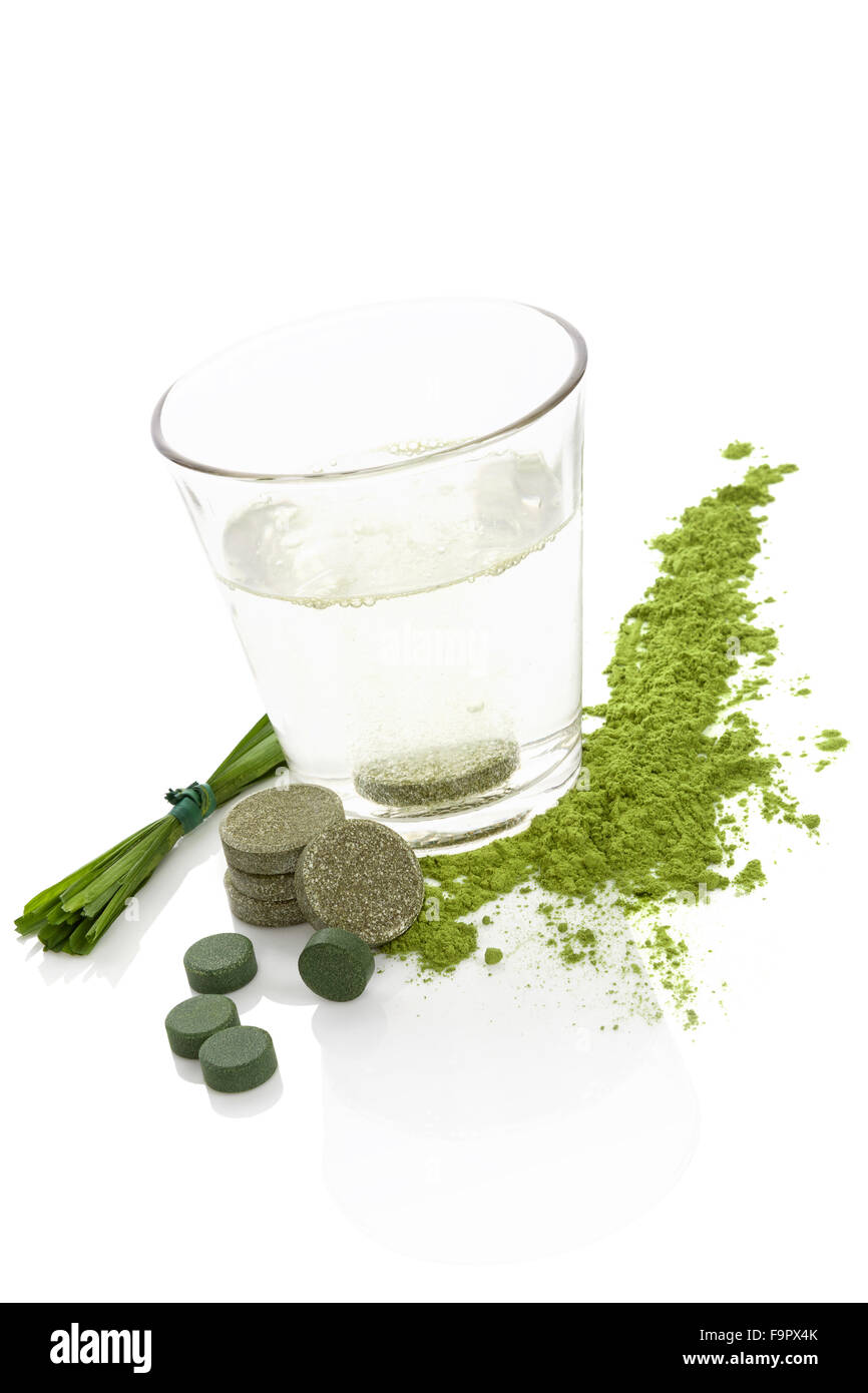 Dietary supplements. - Stock Image
