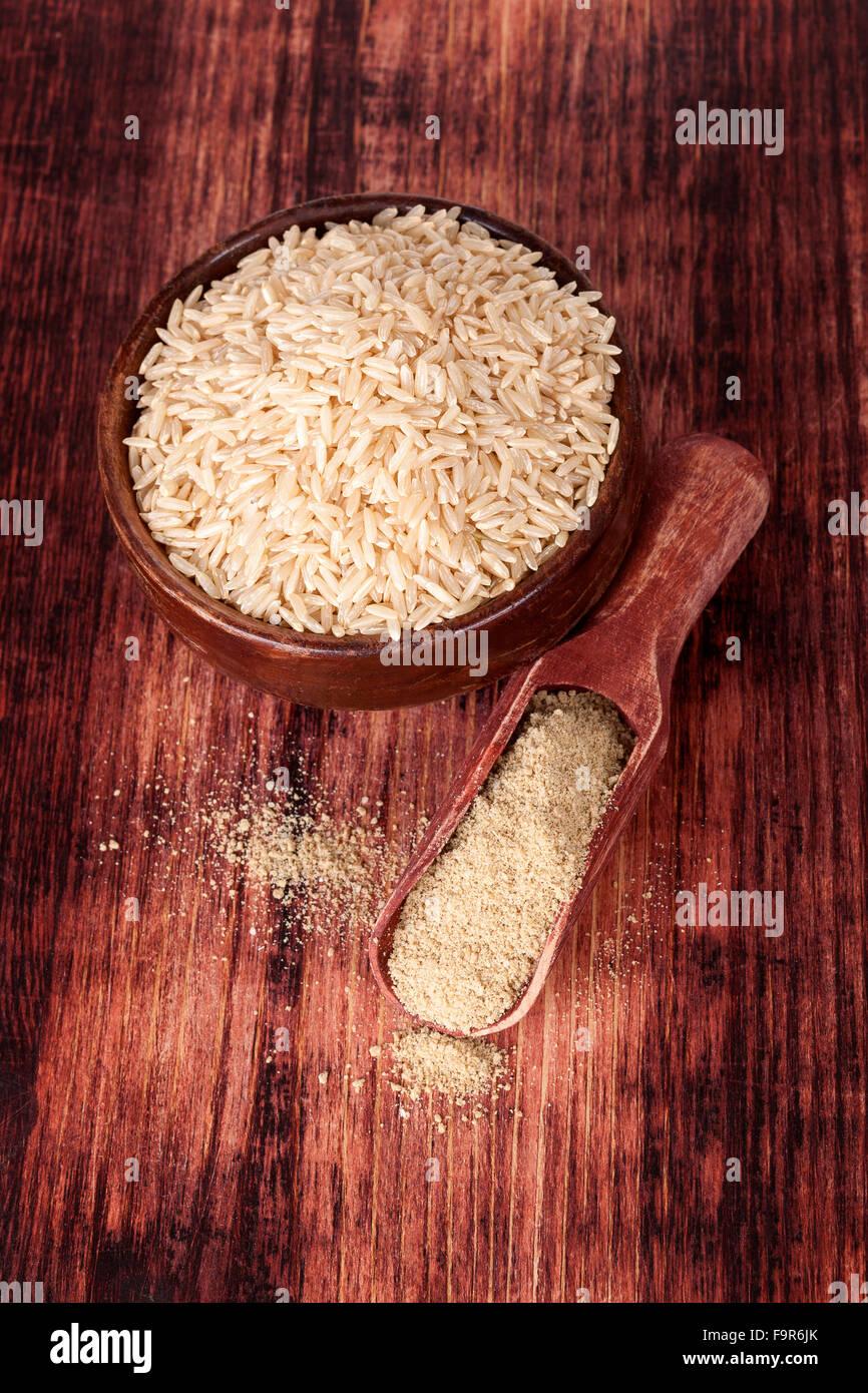 Detox. Dietary fiber. - Stock Image