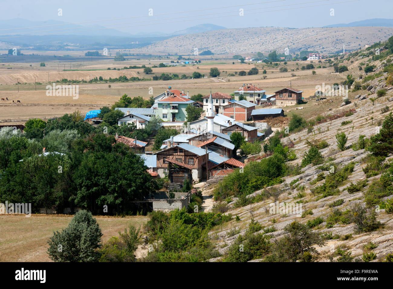 Türkei, westliche Schwarzmeerküste, Dorf Üyük bei Seydiler nördlich von Kastamonu - Stock Image