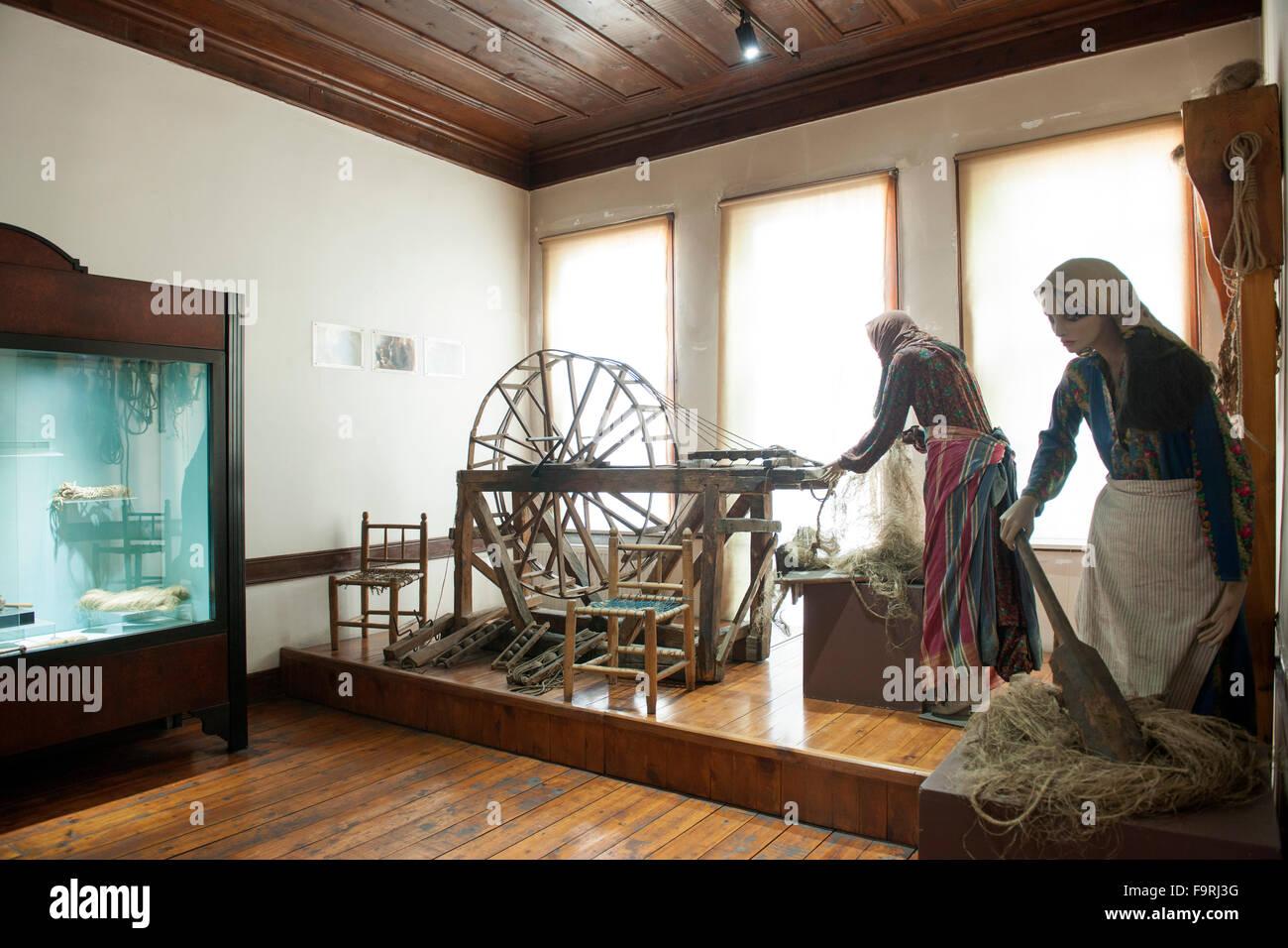 Türkei, westliche Schwarzmeerküste, Kastamonu, Ethnografisches Museum - Stock Image