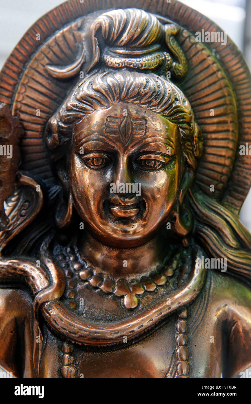 Hindu god Shiva. - Stock Image