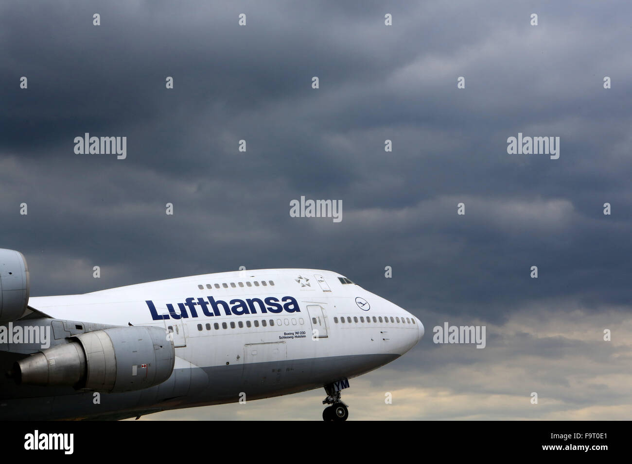 Boeing 747-230. The  Speyer Technik Museum. - Stock Image