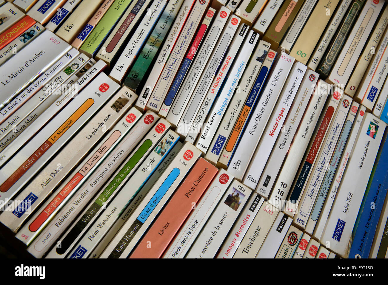 Second-hand books. - Stock Image