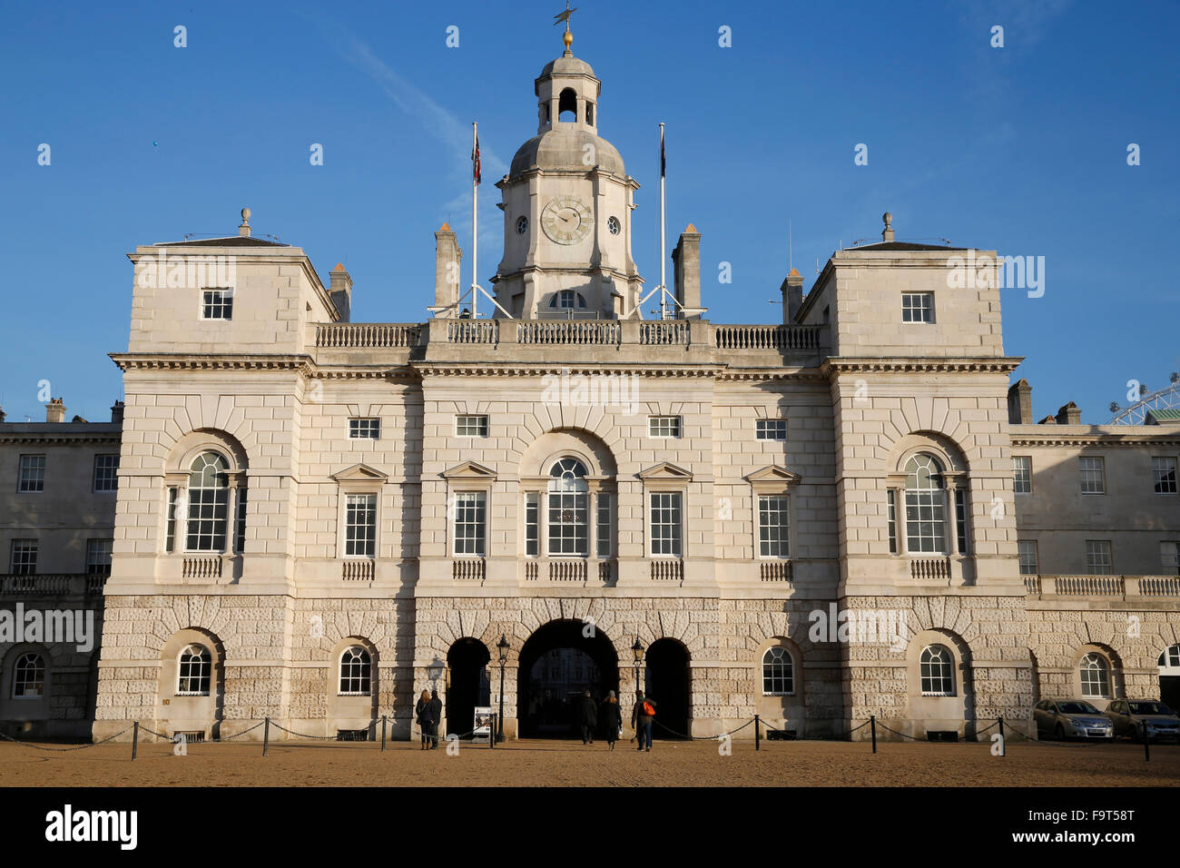 Headquarters of the Horse Guard Household Division in Whitehall - Stock Image
