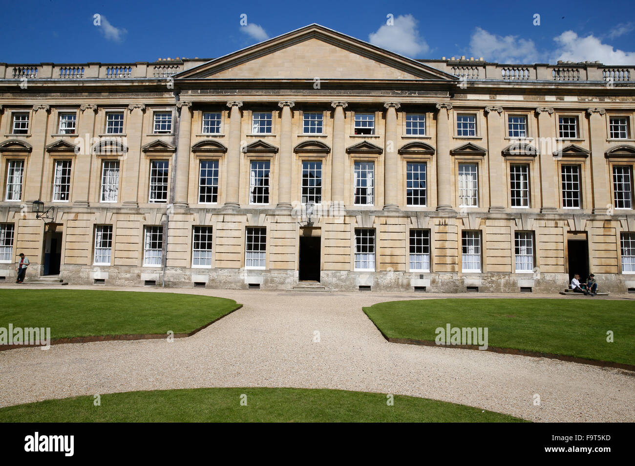 Christ Church college, Oxford. - Stock Image