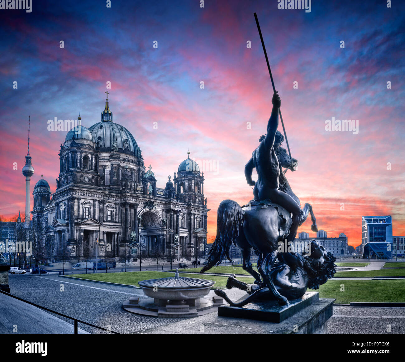 Berlin Cathedral, Berlin, Germany - Stock Image