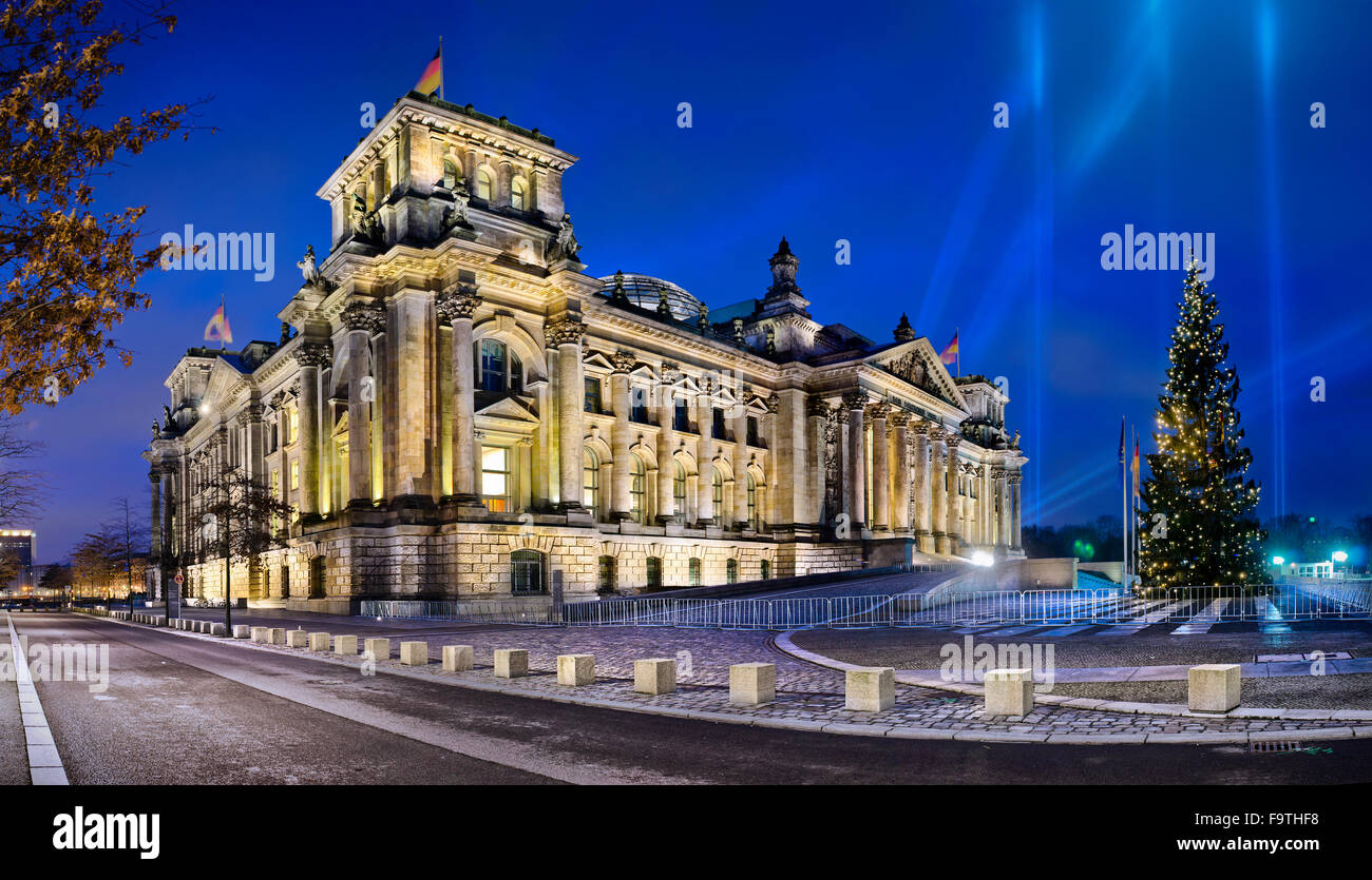 The Reichstag, Bundestag, Berlin, Germany - Stock Image