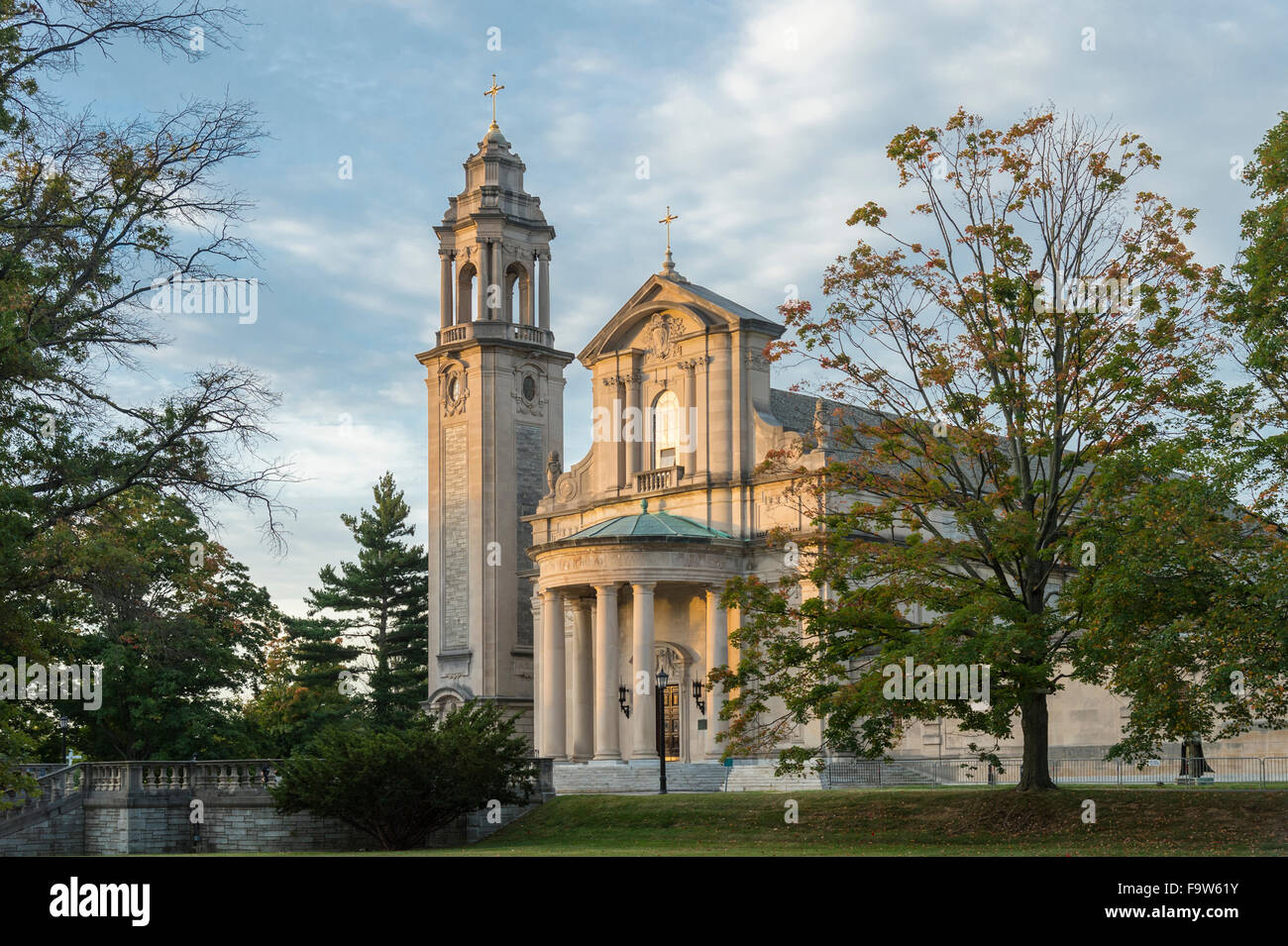 Saint Martin's Chapel, Saint Charles Seminary, Philadelphia, Pennsylvania, USA - Stock Image