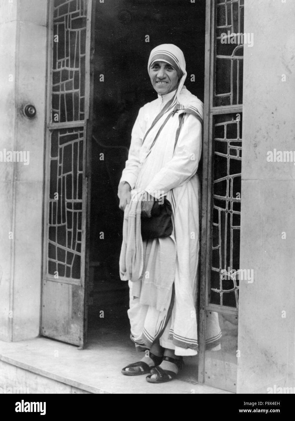 File. 18th Dec, 2015. Mother Teresa to Be Sainted After 2nd Miracle Declares Vatican. MOTHER TERESA, who dedicated - Stock Image