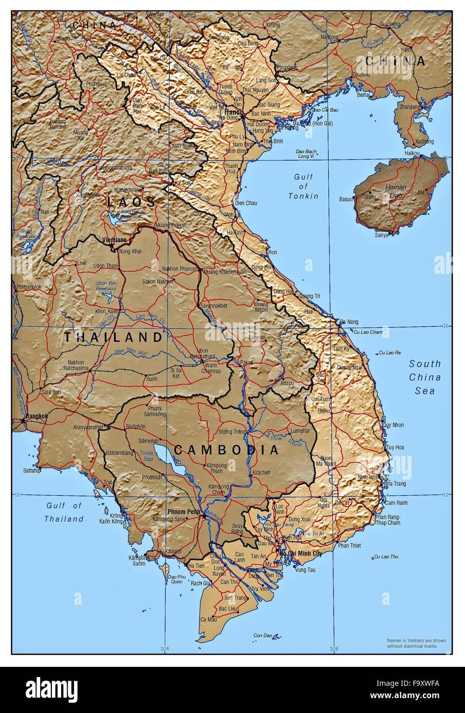Vietnam Map Stock s & Vietnam Map Stock Alamy