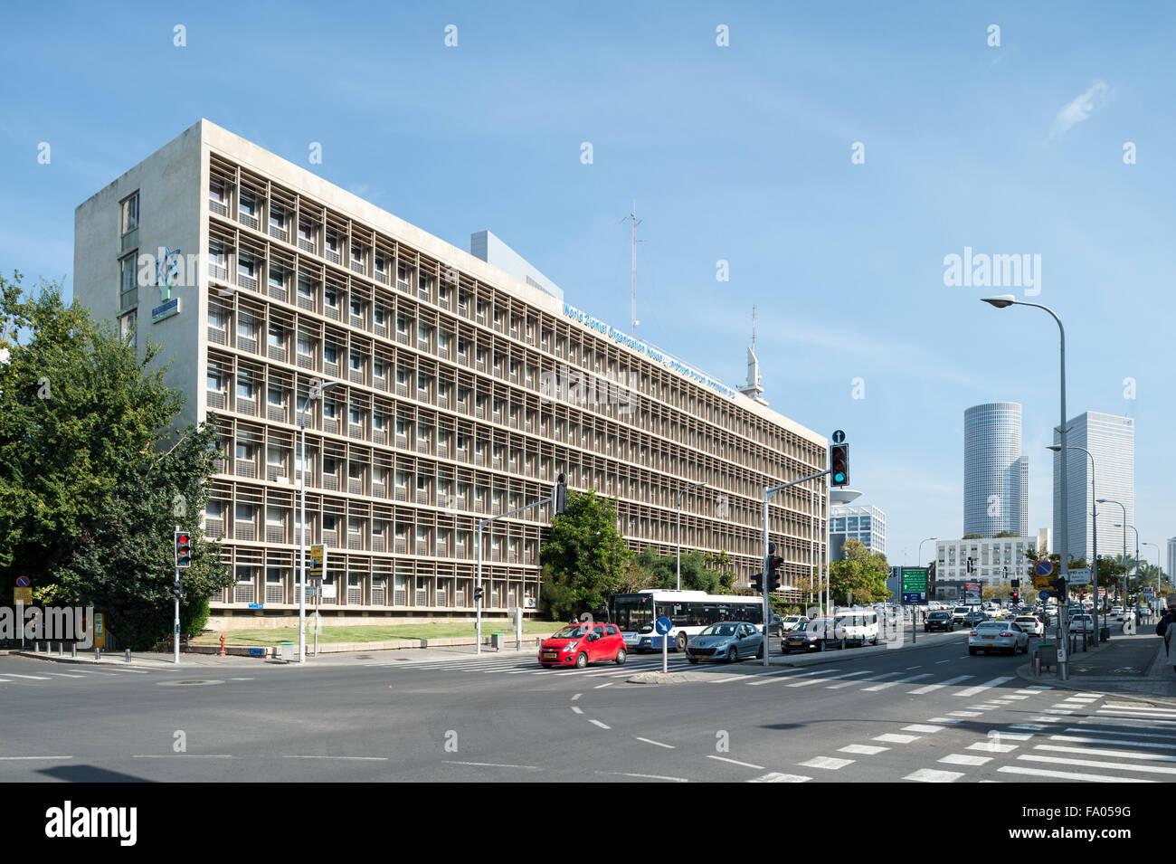 Israel, Tel Aviv, World Zionist Organization - Stock Image
