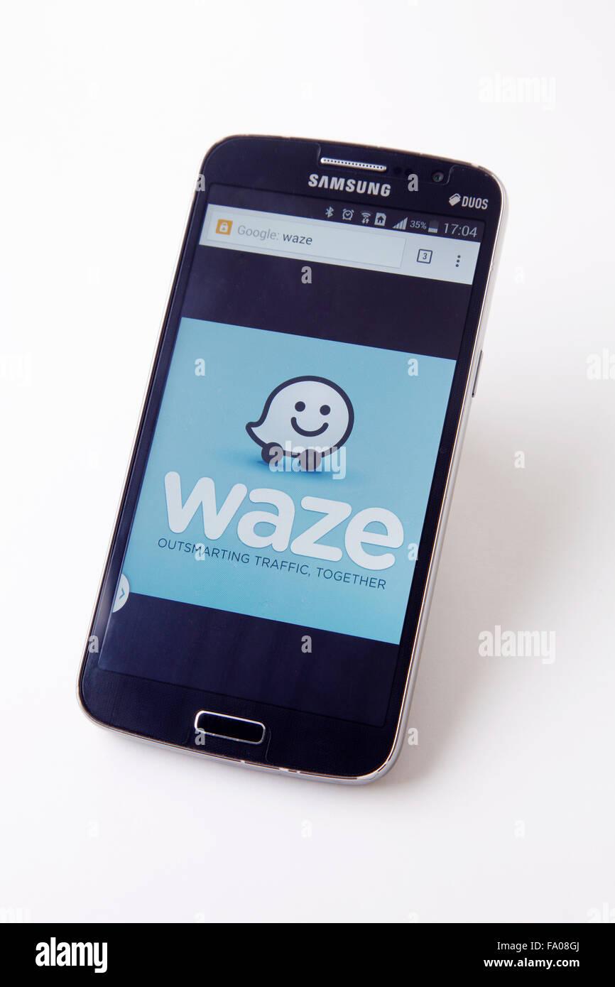 Waze Application Stock Photos & Waze Application Stock Images - Alamy