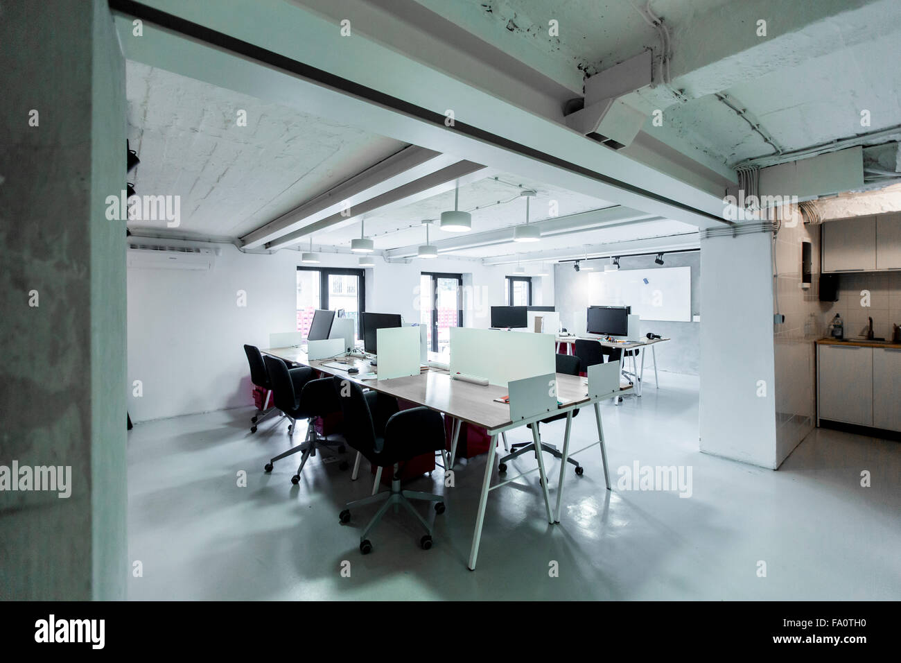 Modern office interior - Stock Image
