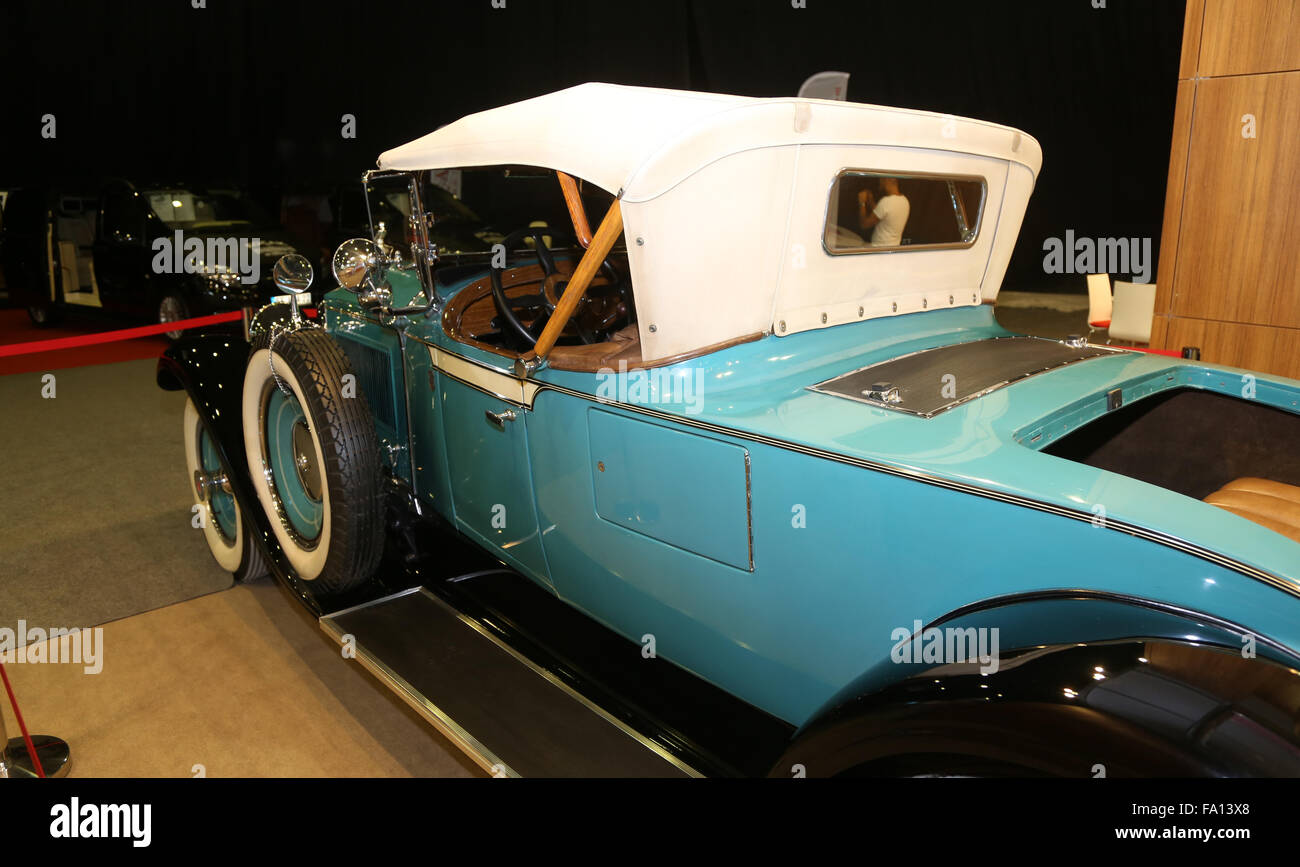 An Antique car in Used Cars For Sale Fair in CNX Expo Stock Photo ...