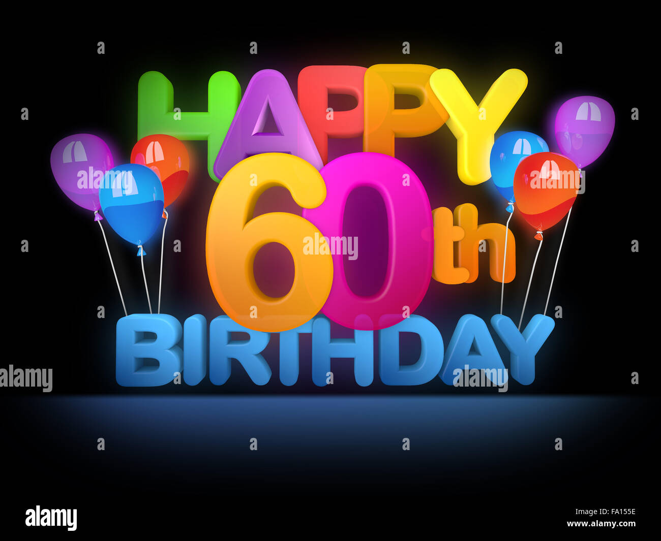 Happy 60th Birthday Stock Photos Amp Happy 60th Birthday