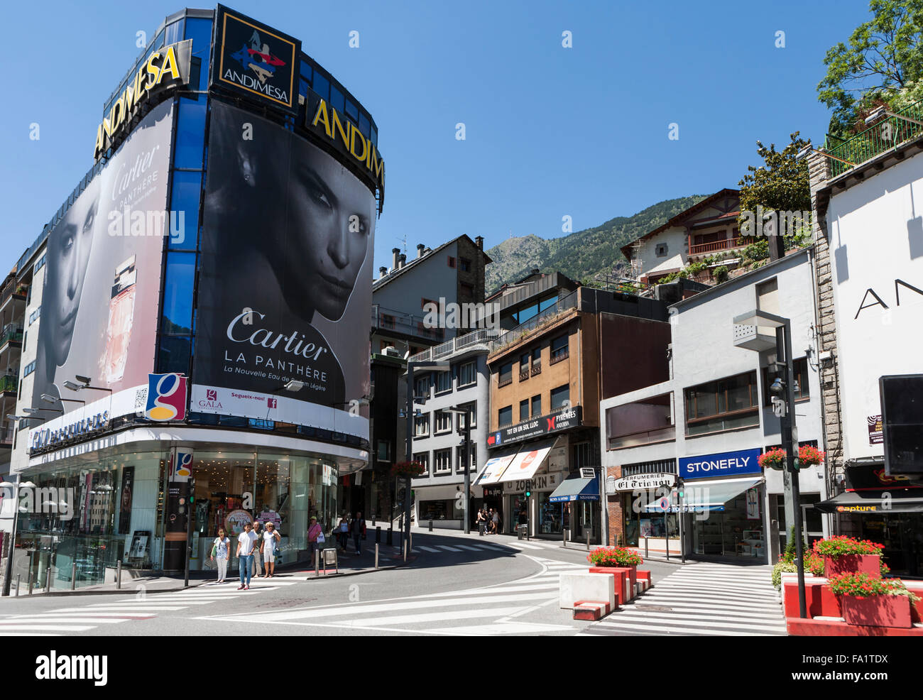 Andorra la Vella - Stock Image
