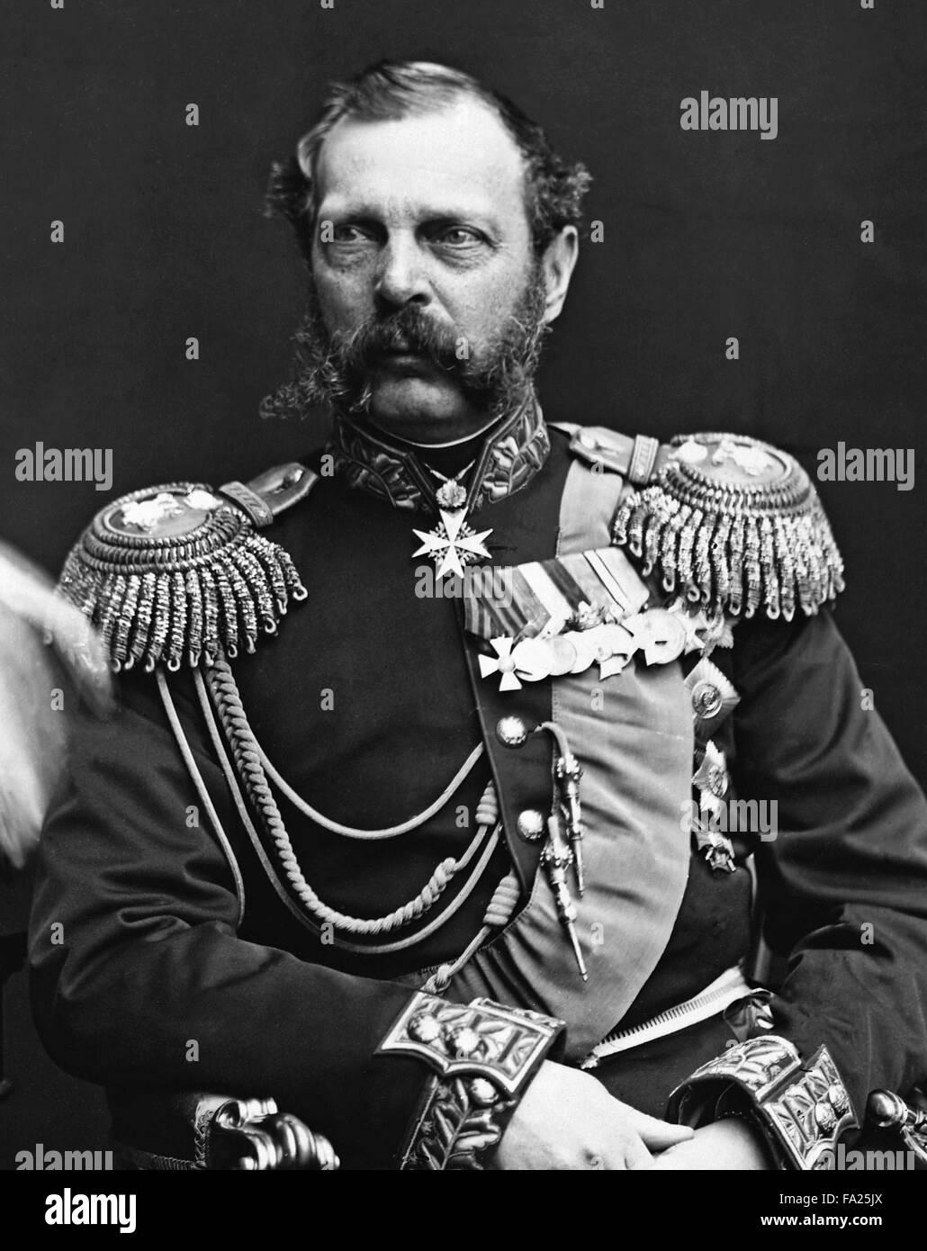 Alexander II, Emperor of Russia from 1855. - Stock Image