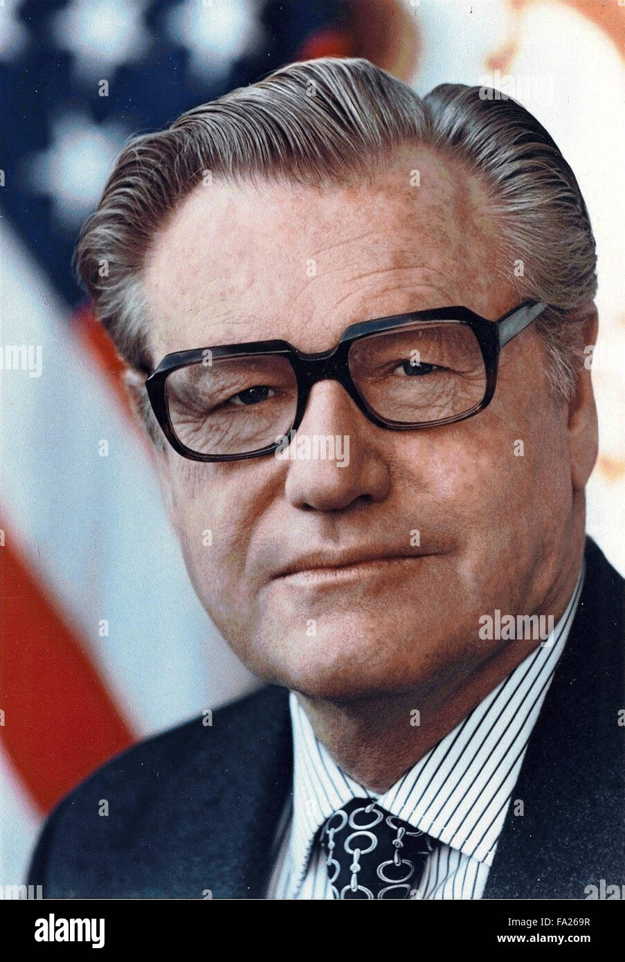 Nelson Rockefeller was 41st Vice President of the United States (1974–1977) - Stock Image