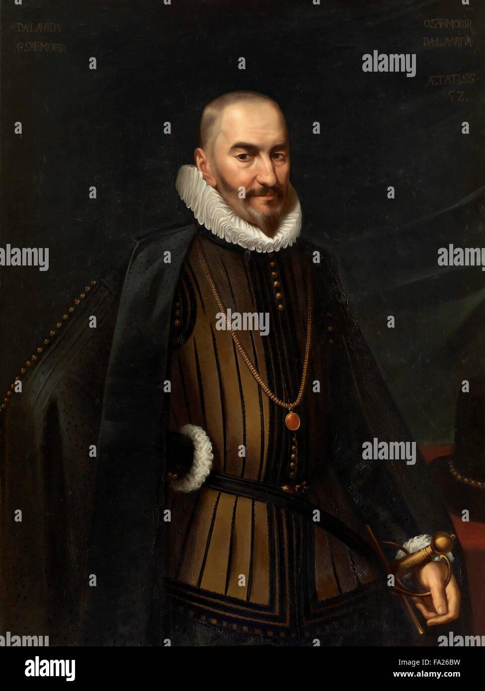 Don Diego Sarmiento de Acuña, Count of Gondomar, Spanish diplomat, the Spanish ambassador to England in 1613 - Stock Image