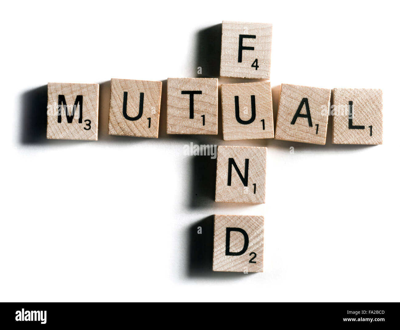 mutual fund - Stock Image