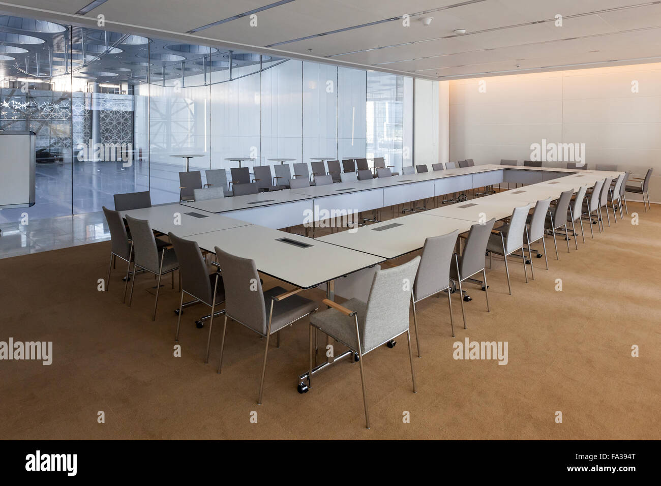 Business meeting room - Stock Image