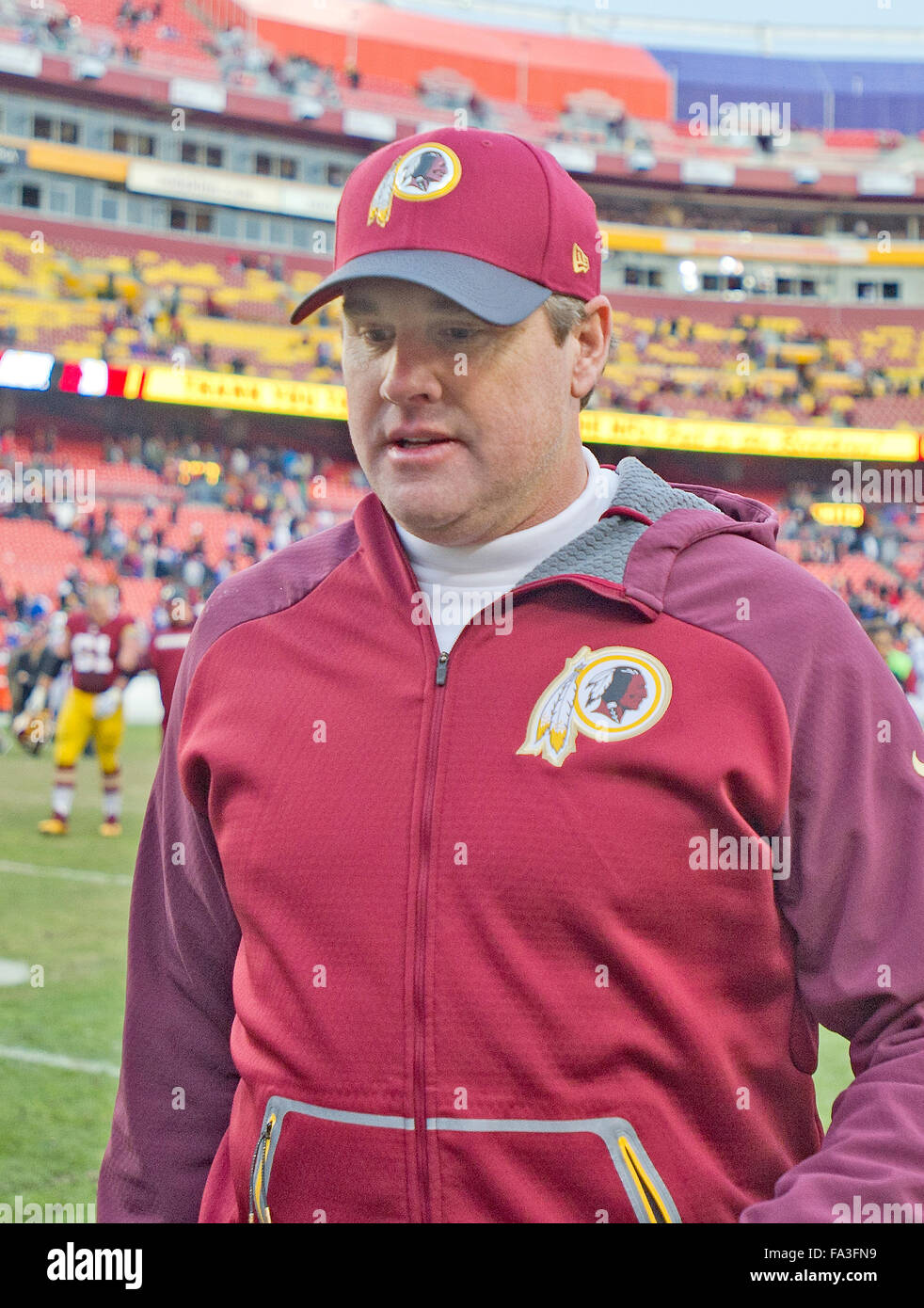 e4a7f398a Washington Redskins head coach Jay Gruden leavees the field following his  team s 35-25 victory
