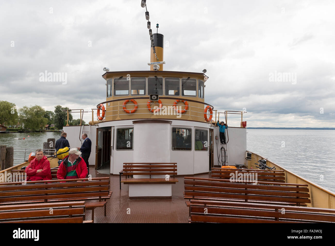 Herreninsel, Chiemsee, Germany, lake, water, boat trip, tourism, travel, island, Stock Photo