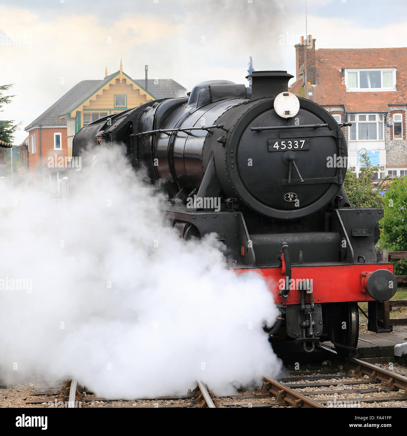 Stanier Black 5Stock Photos and Images
