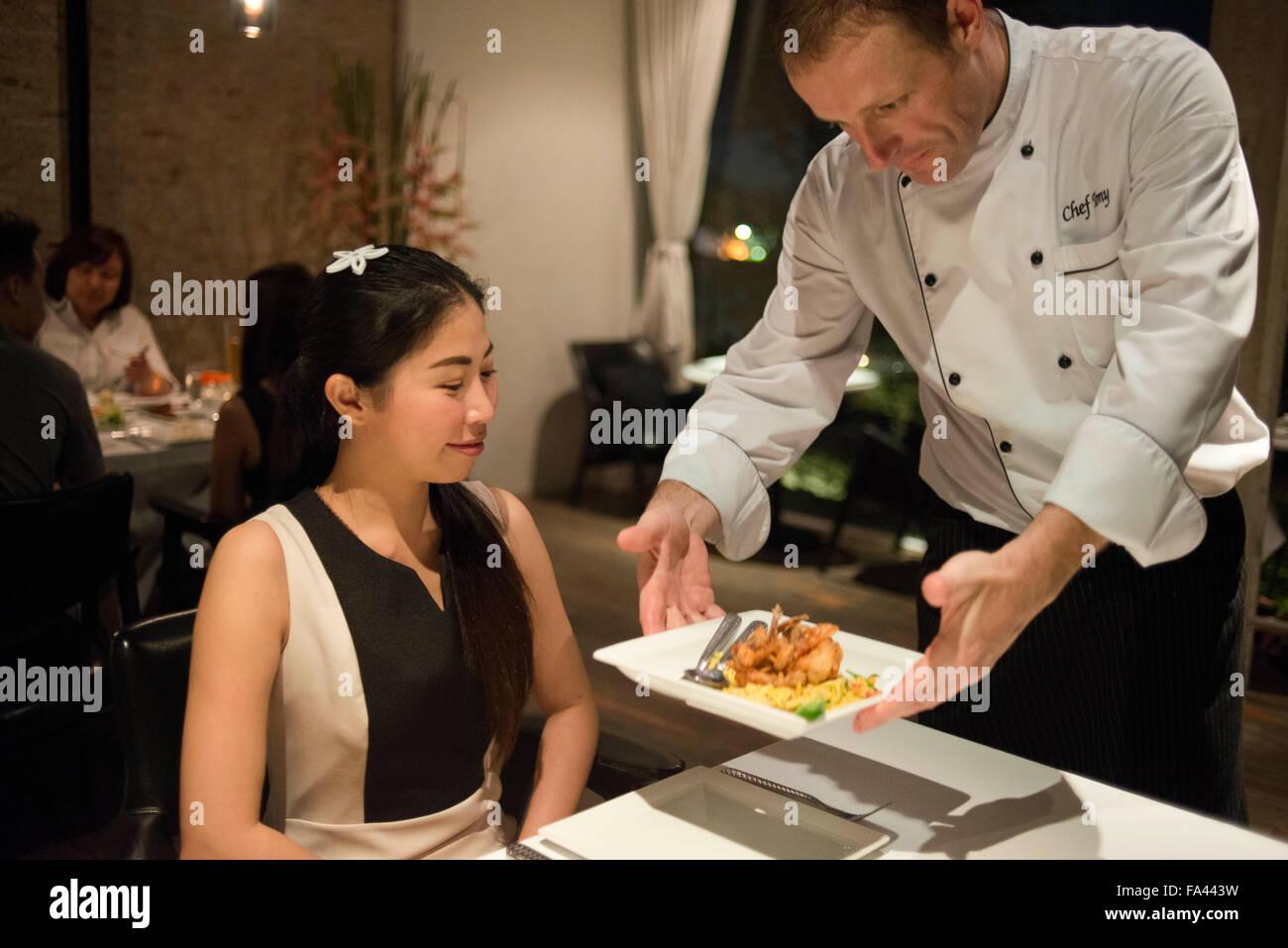 Chef Tony From Sala Rattanakosin Hotel In Bangkok