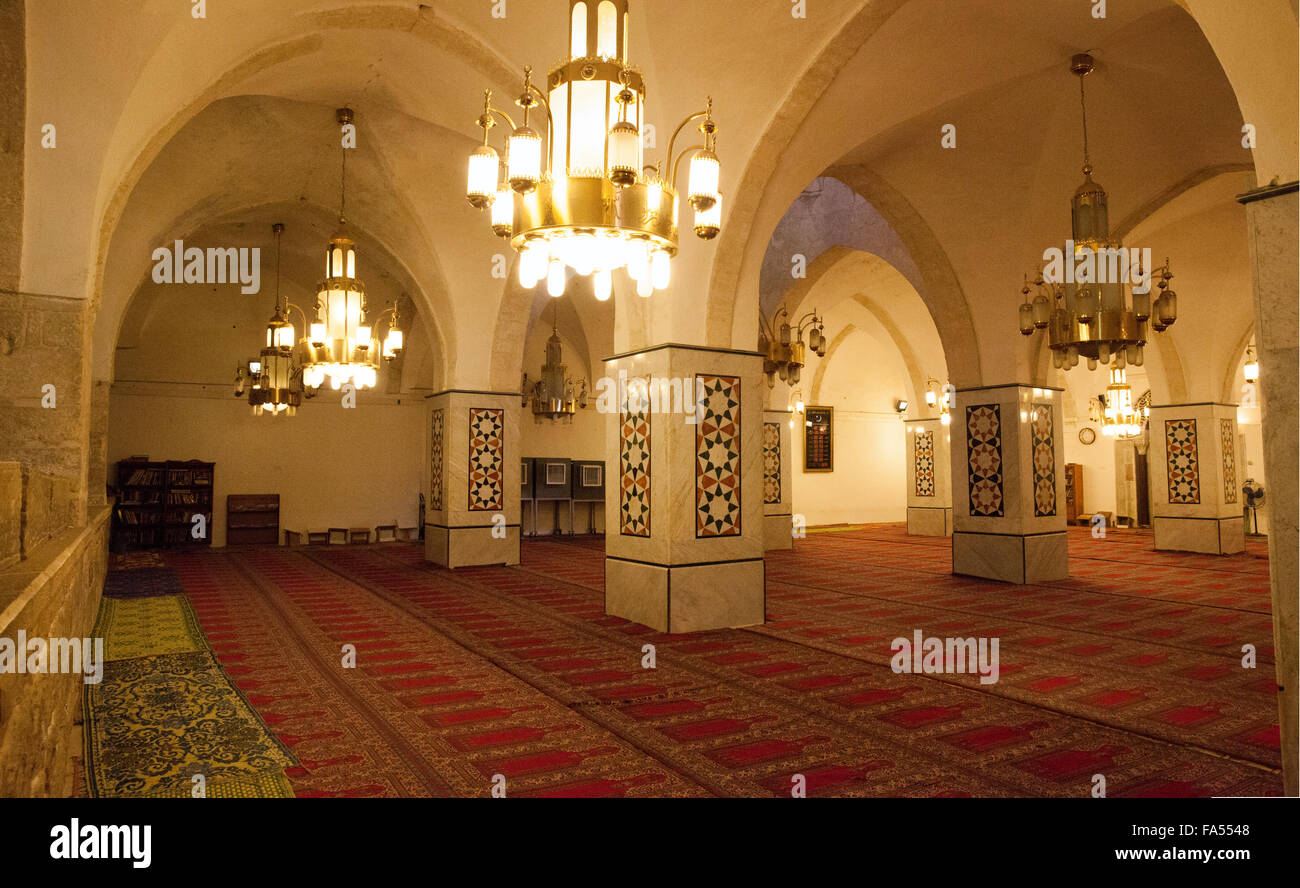 The Ibrahimi mosque / Cave of the Patriarchs Hebron - Stock Image