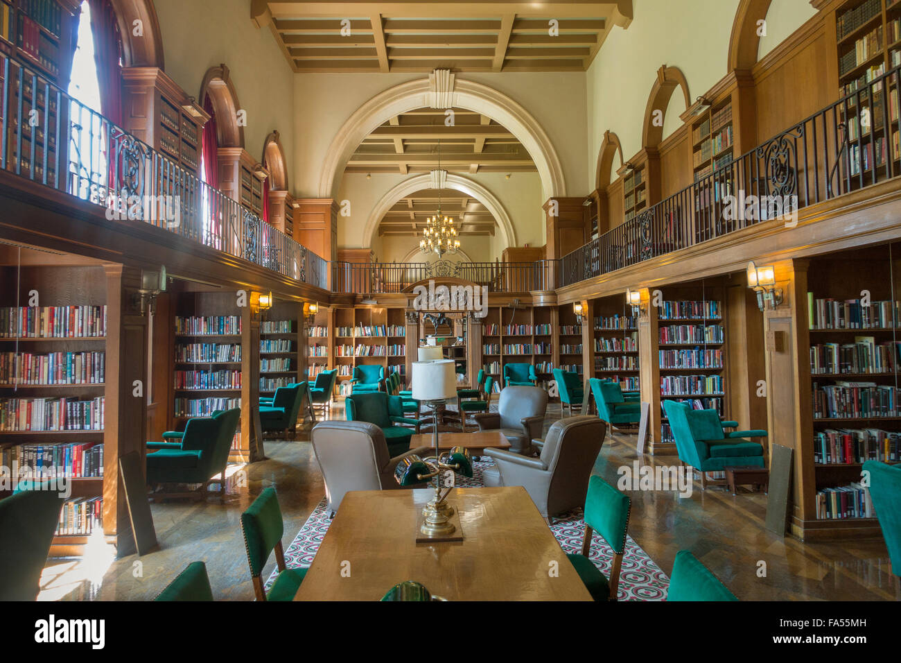 Dartmouth College Hanover NH library New Hampshire Stock Photo