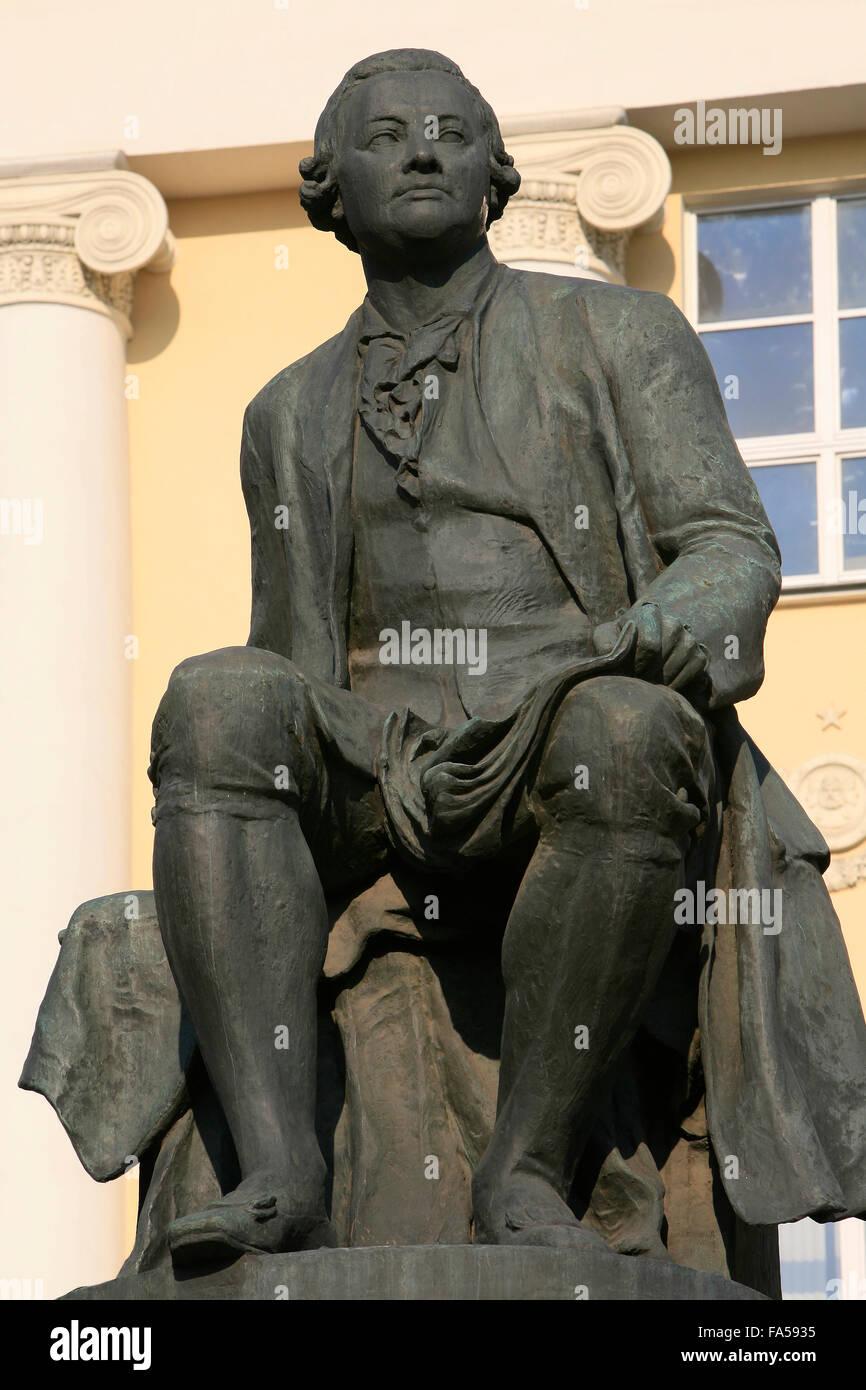 Where studied Lomonosov 10