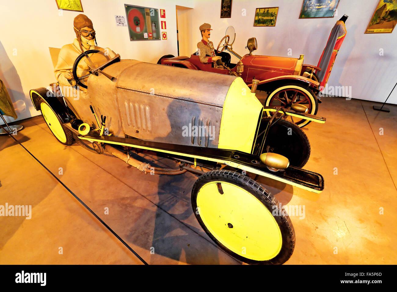 Malaga Spain Automovilistico De Malaga 1912 Barron Acroyd El Pampero - Stock Image