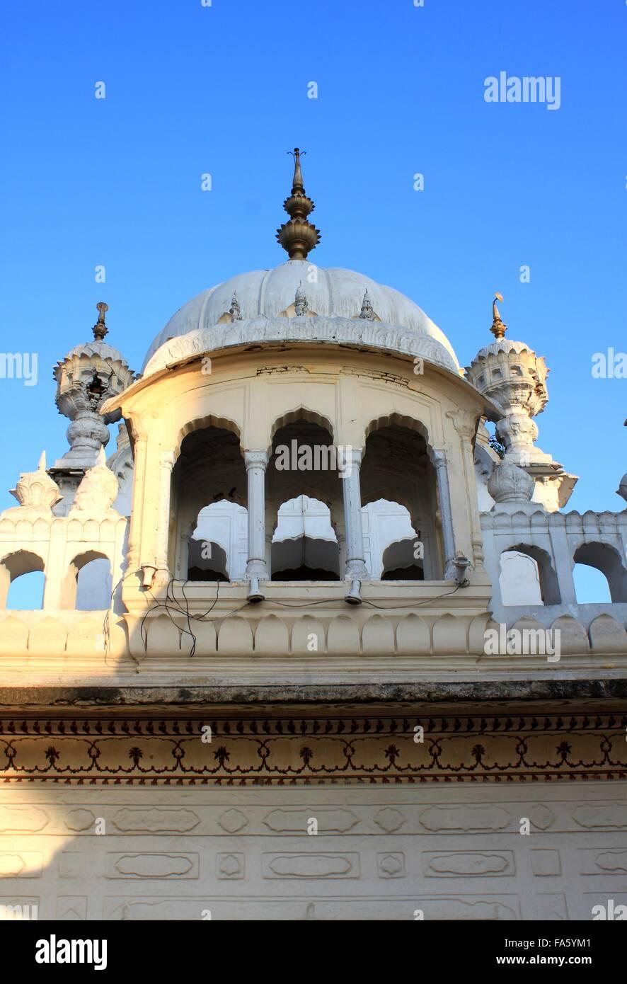 Samadhi Shrine of Ranjit Singh, Lahore, Pakistan - Stock Image