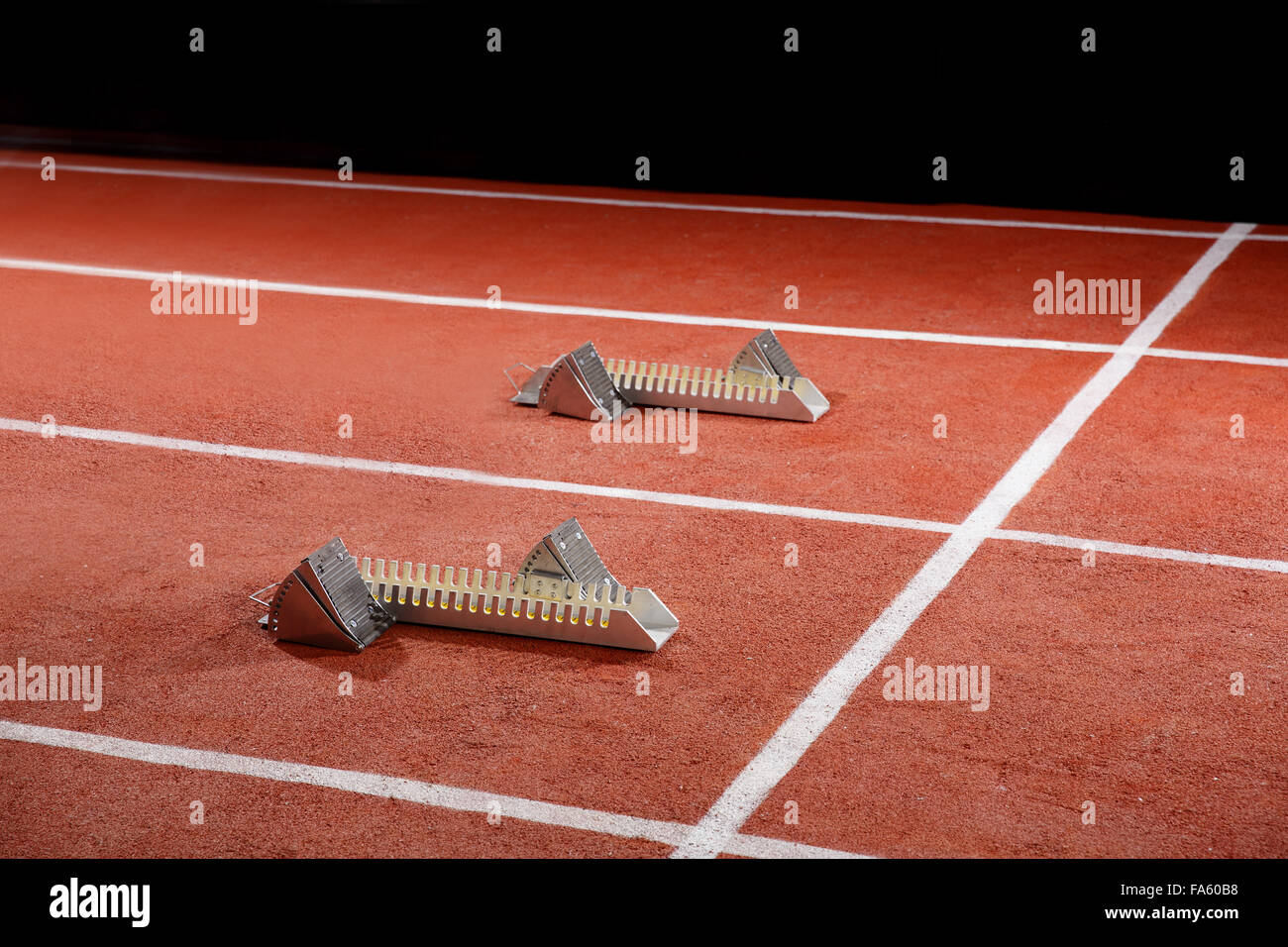Track And Field Starting Frame Stock Photo 92330428 Alamy