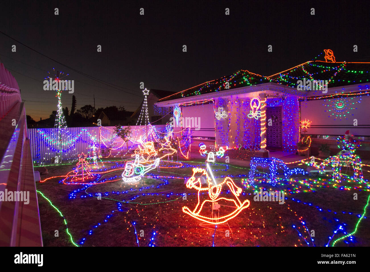 Christmas Decorations Adelaide Australia Stock Photos ...