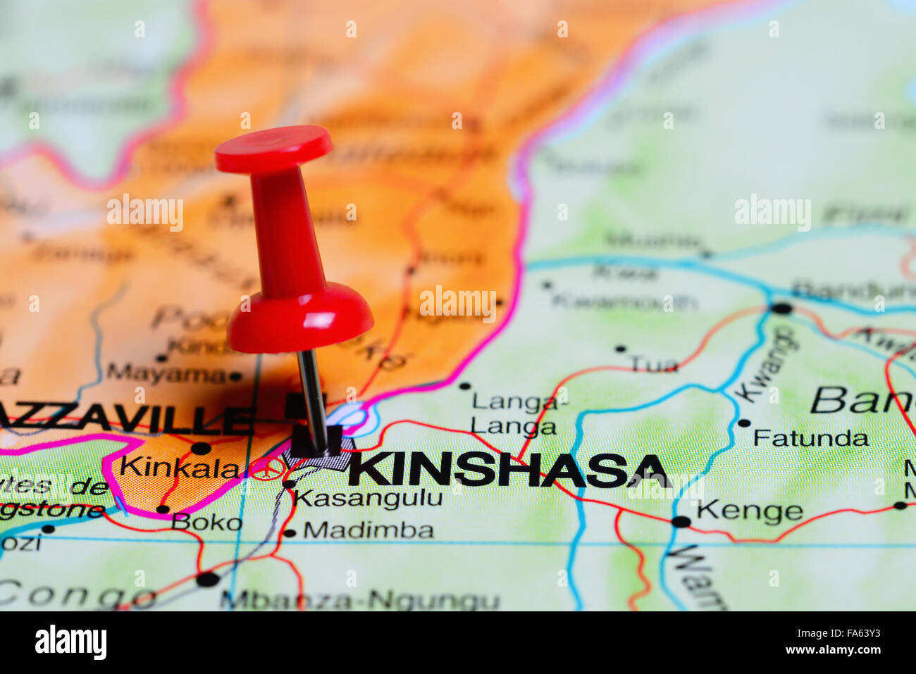 Kinshasa pinned on a map of Africa Stock Photo: 92333223 - Alamy on dar es salaam on map of africa, mogadishu on map of africa, tripoli on map of africa, maputo on map of africa, jerusalem on map of africa, brazzaville on map of africa, lagos on map of africa, democratic republic of the congo on map of africa, khartoum on map of africa, lusaka on map of africa, kigali on map of africa, addis ababa on map of africa, walvis bay on map of africa, victoria falls on map of africa, africa on map of africa, central african republic on map of africa, white nile on map of africa, alexandria on map of africa, timbuktu on map of africa, nairobi on map of africa,