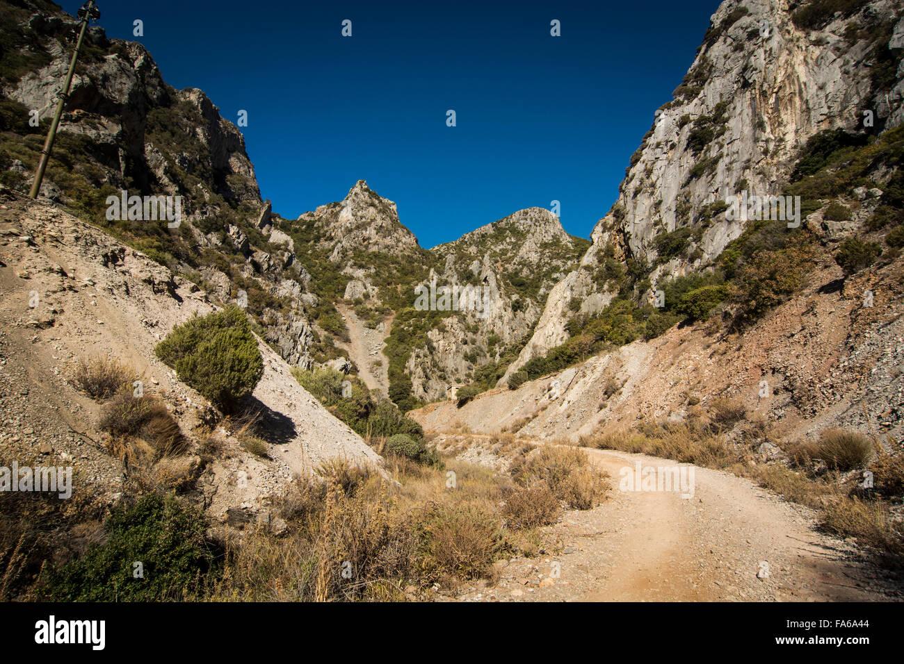 Sardinia outdoors - Stock Image