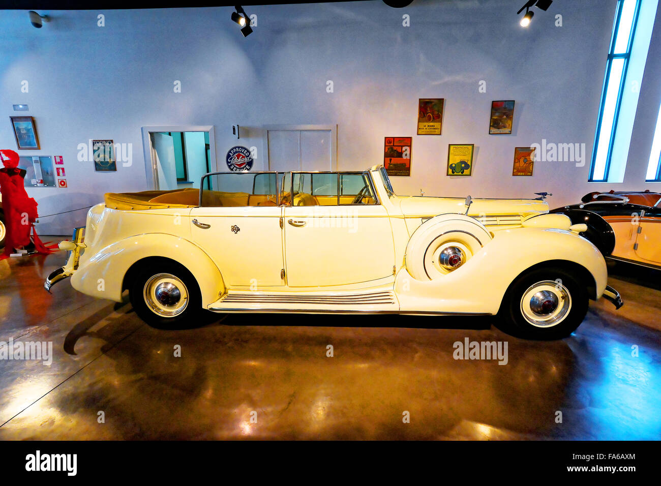 Malaga Spain Automovilistico De Malaga Packard 1939 - Stock Image