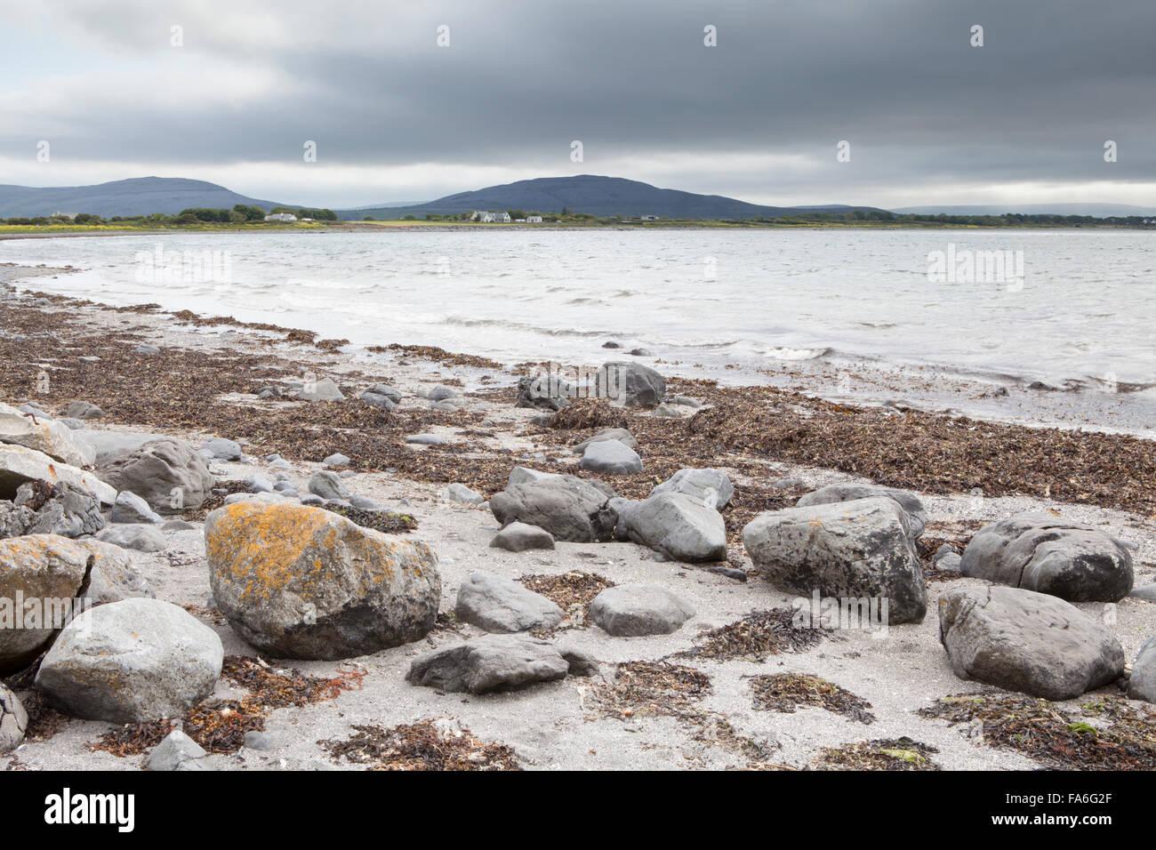 The west coast of Ireland near Flaggy Shore - Stock Image