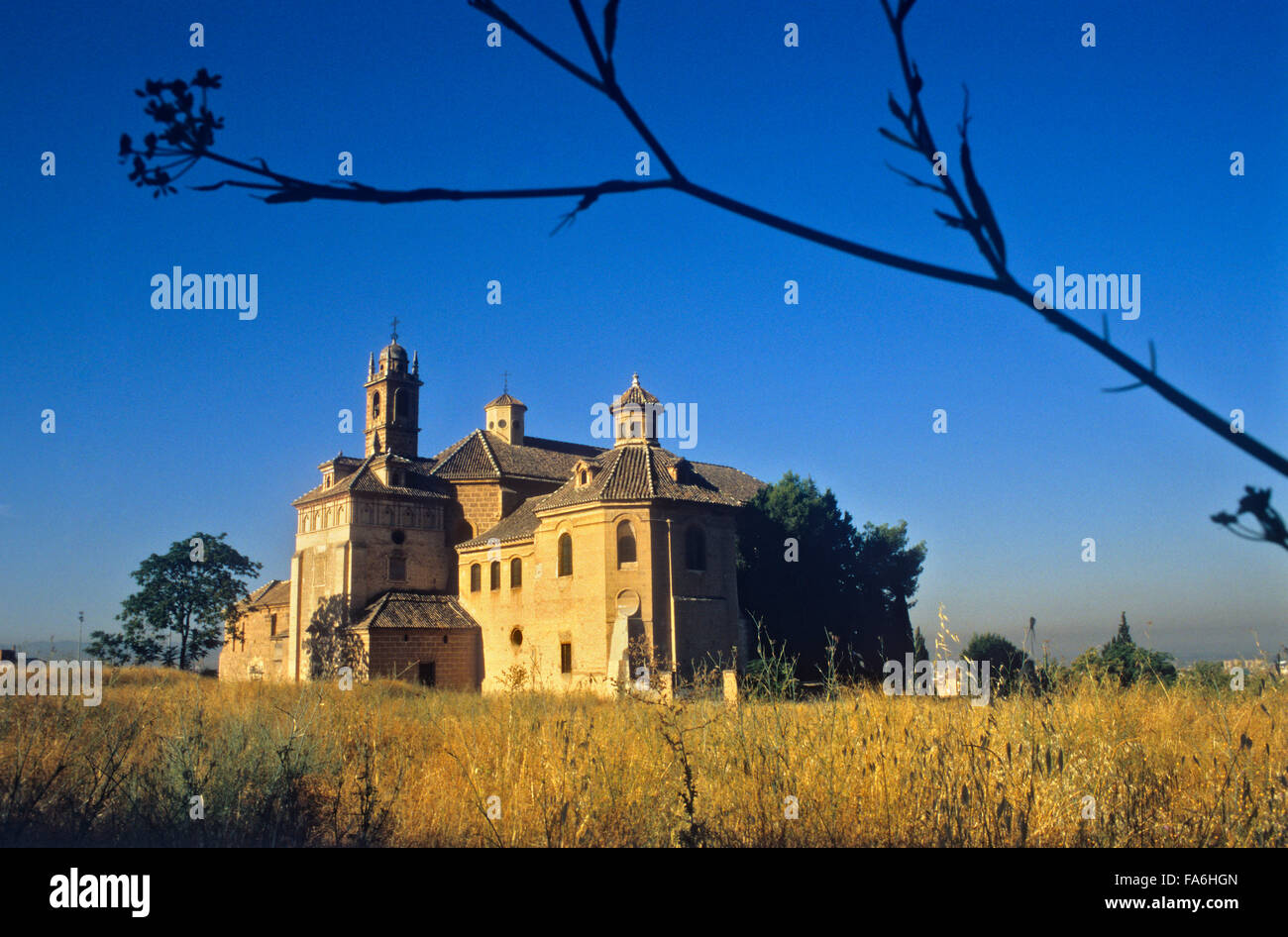 Monastery of La Cartuja.Granada. Andalucia, Spain - Stock Image