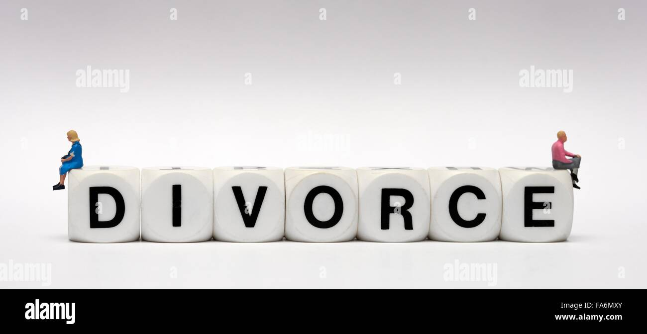 Divorce concept - Stock Image