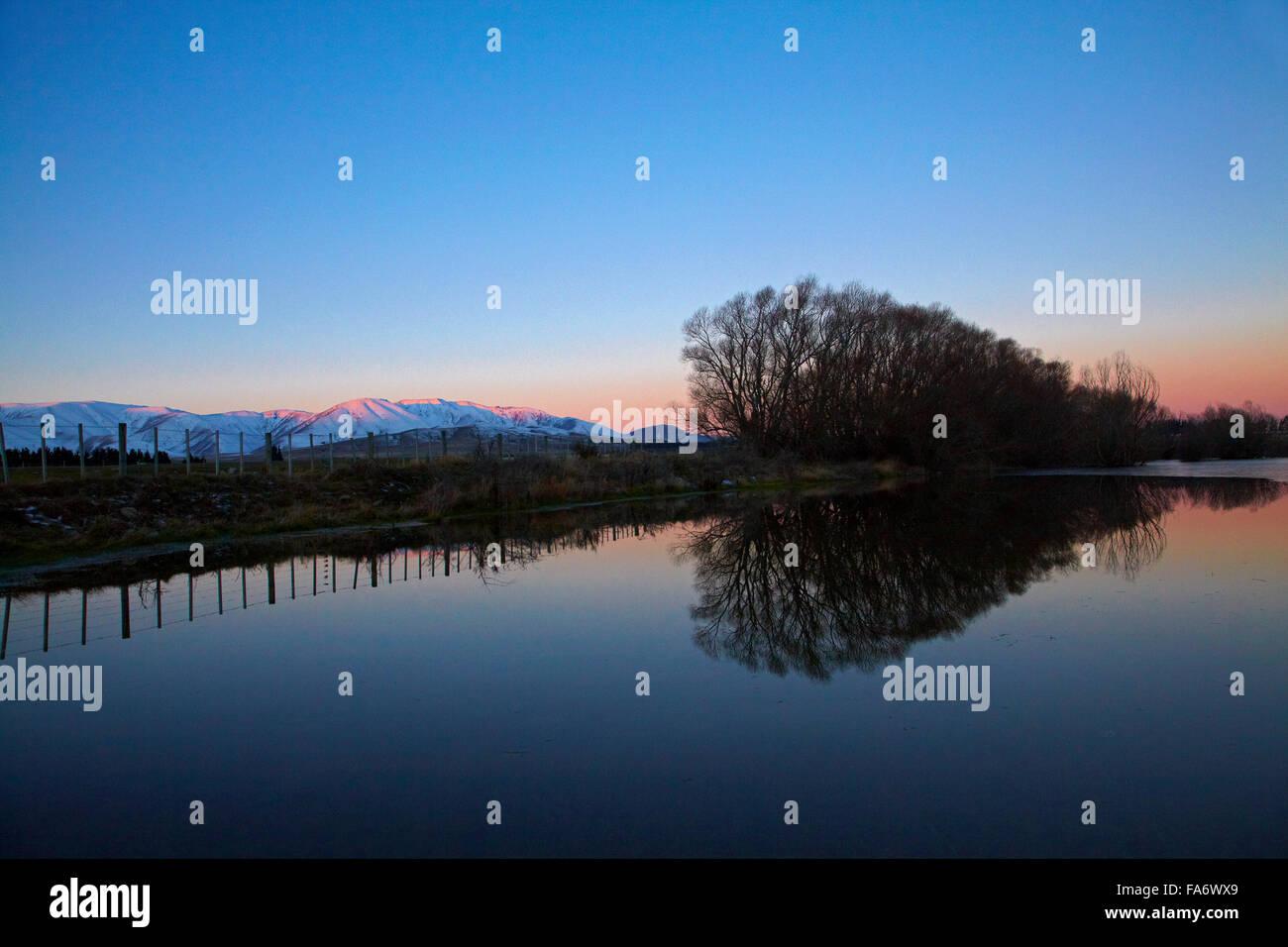 Maniototo, Central Otago, South Island, New Zealand - Stock Image